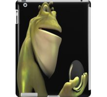 Frog Man With Egg iPad Case/Skin