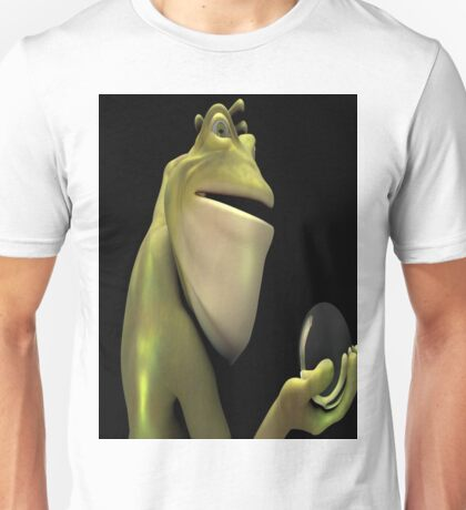 Frog Man With Egg Unisex T-Shirt