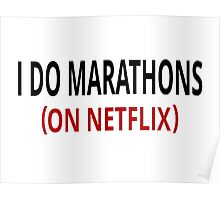 I Do Marathons (On Netflix) Poster