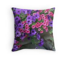 Flower Cart (2) Throw Pillow
