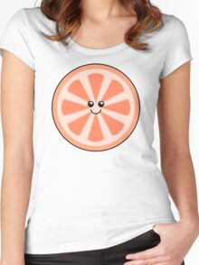 Cute Grapefruit Women's Fitted Scoop T-Shirt
