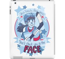 She's Beauty, She's Grace iPad Case/Skin