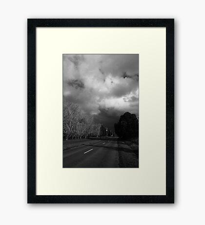 The Backroad #2 Framed Print