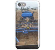 blue airseeder iPhone Case/Skin