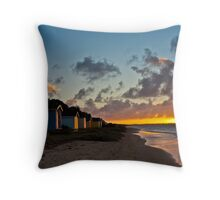 Tyrone foreshore at sunset #4 Throw Pillow