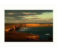Port Campbell Coast Line,Great Ocean Rd Art Print