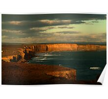 Port Campbell Coast Line,Great Ocean Rd Poster