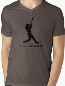 It's just... NOT CRICKET! Mens V-Neck T-Shirt