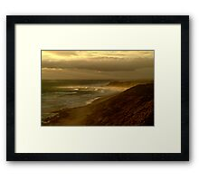 Sunburst 13th Beach,Bellarine Peninsula Framed Print