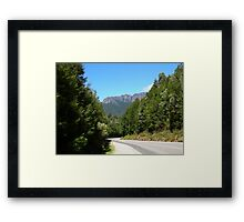 Windscreen View Framed Print