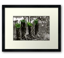 Boots are made 4 walking Framed Print