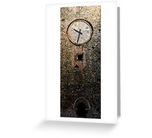 Time Greeting Card