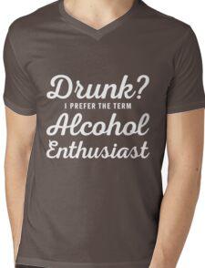 Alcohol Enthusiast Mens V-Neck T-Shirt