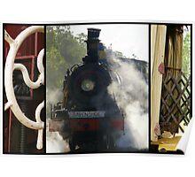 Ravenshoe Steam Train Trio Poster