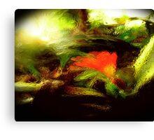 gardens through glass.. Canvas Print