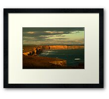 Port Campbell Coastline, Great Ocean Road Framed Print