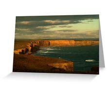 Port Campbell Coastline, Great Ocean Road Greeting Card