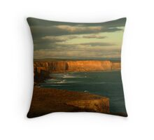 Port Campbell Coastline, Great Ocean Road Throw Pillow