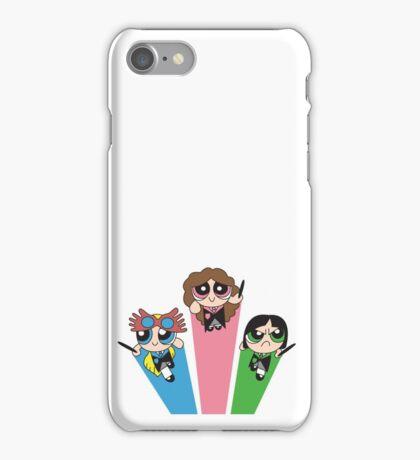 Magic Puff Girls iPhone Case/Skin