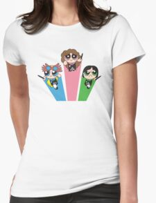 Magic Puff Girls Womens Fitted T-Shirt