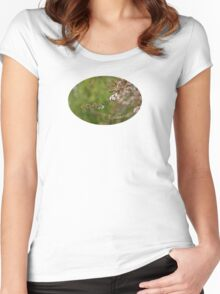 Blossom - JUSTART © Women's Fitted Scoop T-Shirt