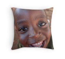 African Boy Throw Pillow