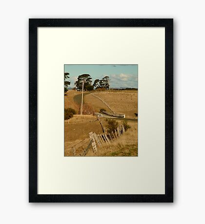 Coghill's Creek Bridge Framed Print