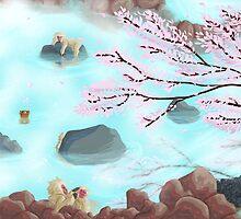 Hot Springs by gryphonart