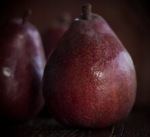 Red Pears by JoHammond