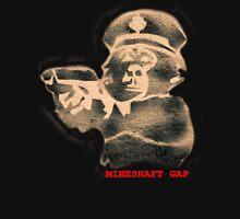 monkey with a gun - black t Unisex T-Shirt