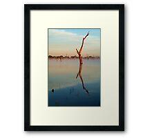 Lake Fyans Framed Print
