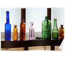 Bottles, Silverton Cafe, Outback Australia Poster