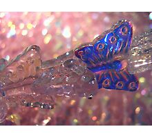 bling glass Photographic Print