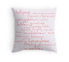 Unkissed Cloud Throw Pillow