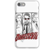 Daredevil Comic iPhone Case/Skin