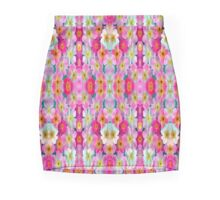 tulips Flowers Mini Skirt