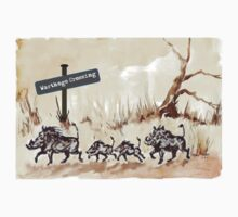 Warthogs Crossing Kids Clothes