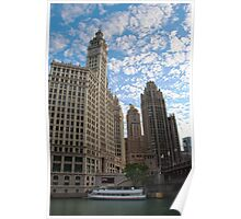 Down The Old Chicago River Poster