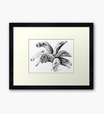 The Plant-Eater Squad Framed Print