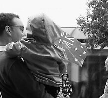 first ANZAC parade  by Jasmine Miller
