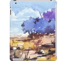 Chilly whisper in the breeze iPad Case/Skin
