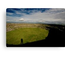 Guess Who At Greenan Fort Canvas Print