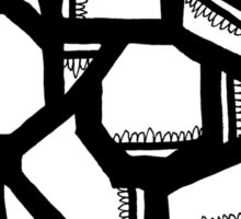 BW Geometrics Sticker