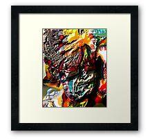 ENTER GALLACTIC MAMA Framed Print