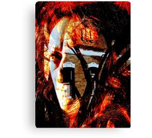 She Set Fire To The House Canvas Print