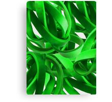 Entanglement in Green Canvas Print