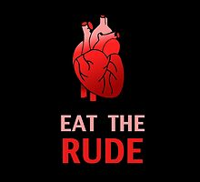 Hannibal : Eat The Rude by Syac Studio