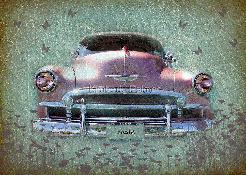 1950 Chevrolet Coupe Deluxe by Kimberly Palmer