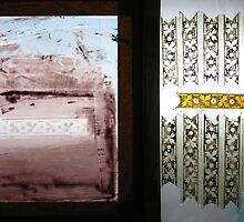 Screen Printing on glass by Jeffrey Hamilton