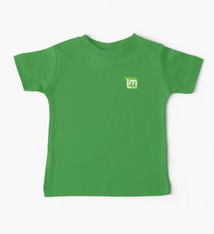 Linux Mint Flat Baby Tee